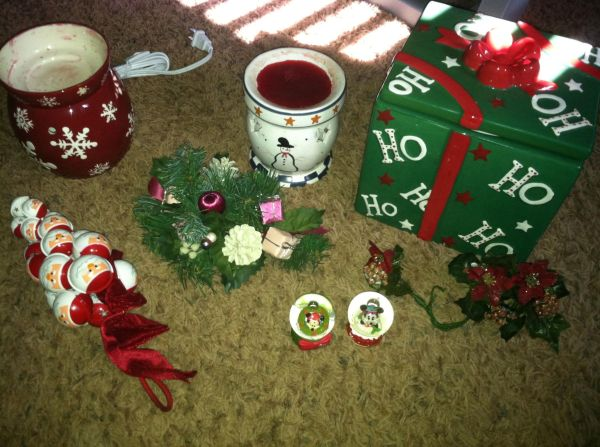 Scentsy Snowflake Warmer More Christmas Decor...LK - $30 (Chapel hilltyer)