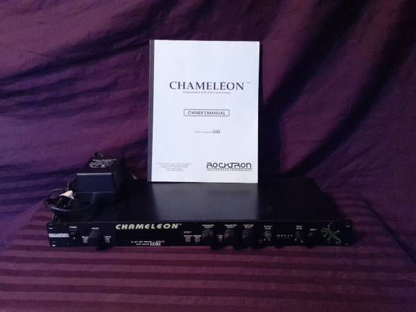 ROCKTRON CHAMELEON (BLACK FACE) - x0024125 (Whitehouse)