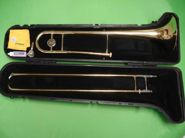 Bach trombone with case... very nice - $300 (Whitehouse)