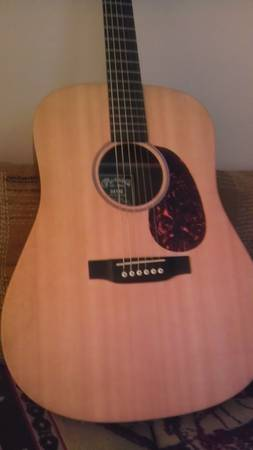 Martin DX1 Acoustic Electric - $300 (tyler)