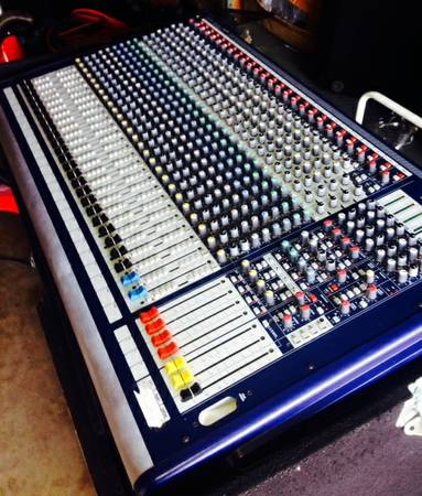 Soundcraft GB4 24 Channel Mixing Console - Used -   x0024 1000  Tyler