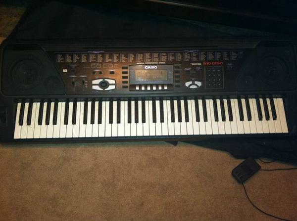 casio wk 100 keyboard for sale. Black Bedroom Furniture Sets. Home Design Ideas