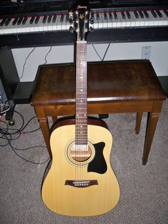 Ibanez V50MJP Acoustic, nice starter or mid range guitar. Plays well - x002460 (Overton)