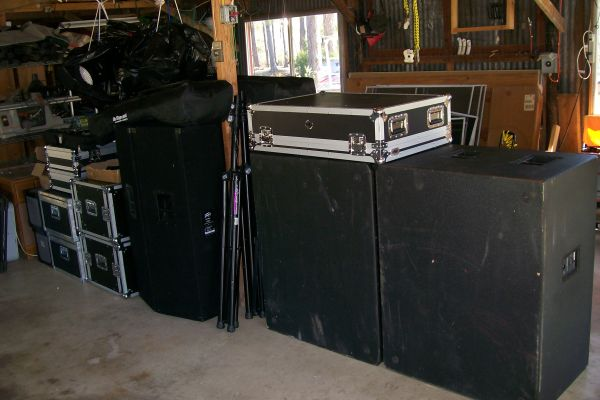 PA - SOUND LIGHT SYSTEM - 12,000watt - $11500 (HuntsvilleLufkin)