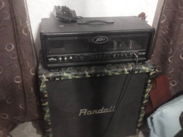(Half Stack)Peavey ValveKing 100 Head - $350 (Mt. Pleasant TX)