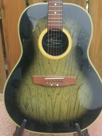 Applause by Ovation AA-31 acoustic guitar - $149 (Mt. Pleasant area)