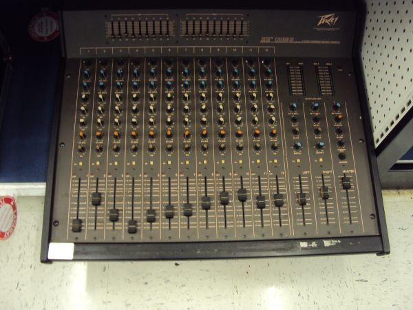 Peavey 12 channel powered mixer - $180 (Tyler)