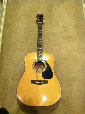 Yamaha SCF08 Acoustic Guitar 6 String - $25 (Longview TX)