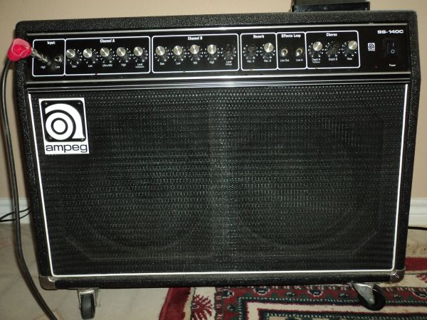 Ampeg ss140c heavy metal super cleandirty and loud. - $325 (Emory )