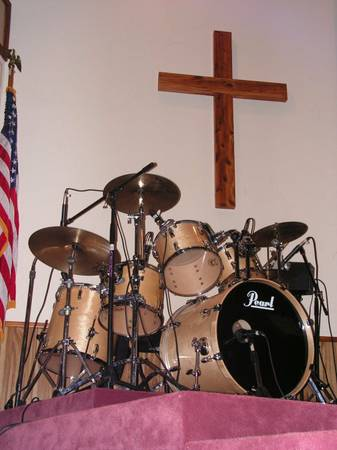 6 piece Pearl Vision Drum Set wextras - $1500 (Alto east texas)