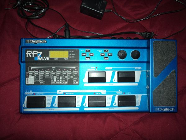 DigiTech RP7 Valve Stereo Footswitch..all metal - $150 (emory tx)