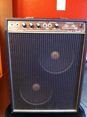 Make an offer - Vintage Teisco Checkmate 88 Amp - $1 (Lindale)