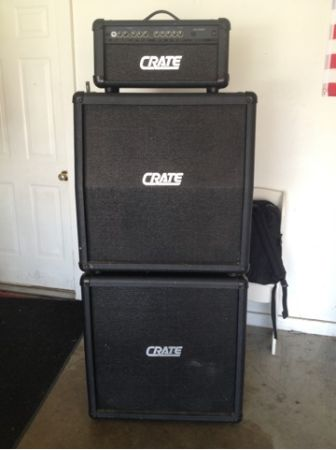 Crate GX - 1200H Full Stack guitar - $200 (Whitehouse, Tx)