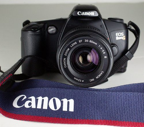 Canon EOS Rebel G 35mm Film Camera KIT - A MUST READ - $250 (Chandler, TX)