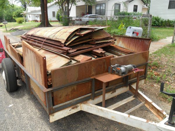 SCRAP METAL (LONGVIEW AND SURROUNDING)