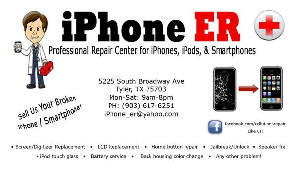 Iphone Screen Repair Tyler Texas