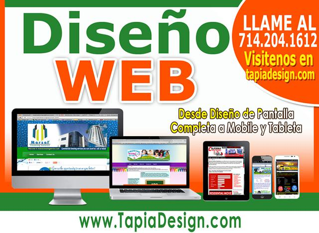 Disenador de paginas web en Garland Texas Diseno web en Garland Texas