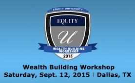 Attention Investors Join us for a One Time Event with Equity Trusts Workshop