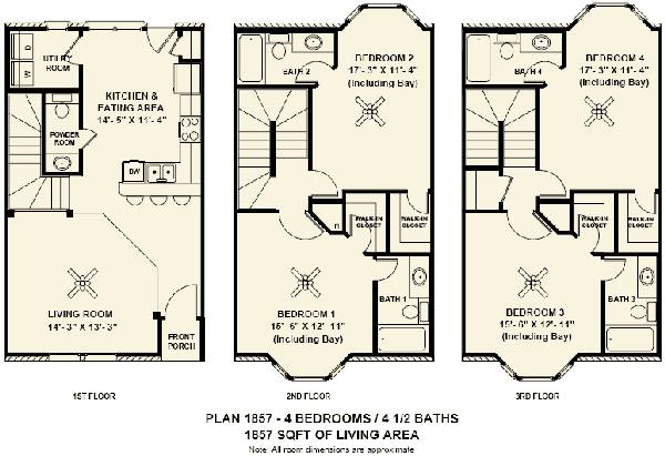 3 Story Townhouse Roomate