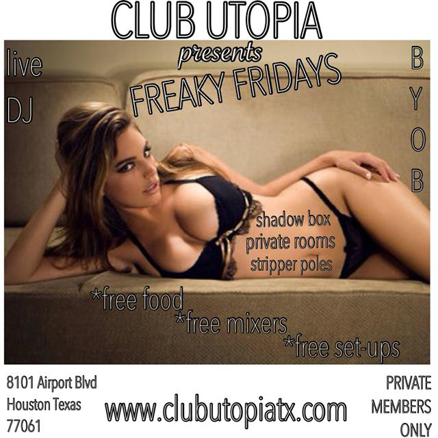 Freaky Fishnet Fridays at Club Utopia