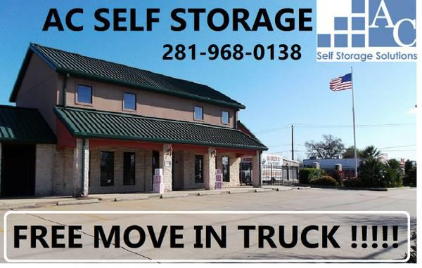 Top of the line storage and parking  FREE Move In Truck