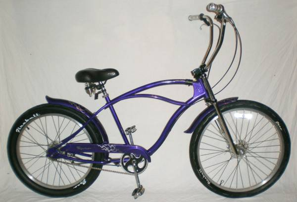 GT DYNO Moto Glide 4 Speed Beach Cruiser Bike Comfort Bicycle 18.5 - $500 (Downtown Houston)