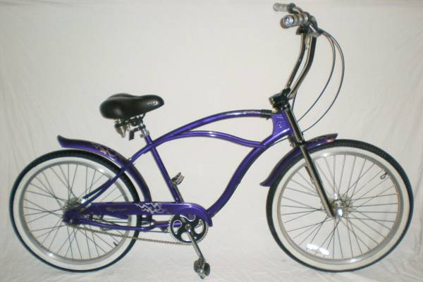 GT DYNO Moto Glide 4 Speed Beach Cruiser Bike Comfort Bicycle 18.5 - $600 (Downtown Houston)