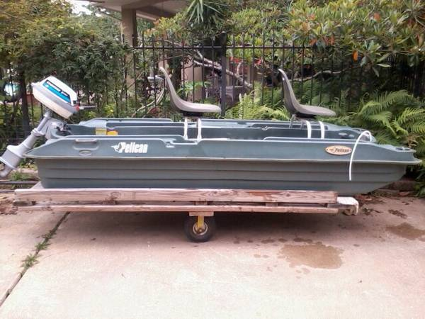 Pelican 10 ft bass raider boat for sale