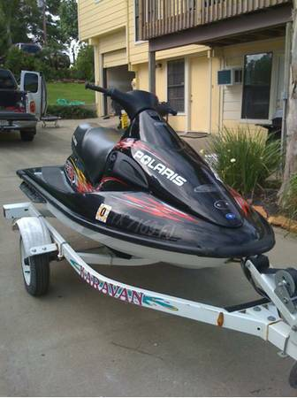 2005 Polaris jet ski boat 1200 SLX runs great, fast, dependable - $2500 (houston)
