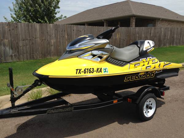2004 seadoo rxp for sale for Fast cash motors tyler tx