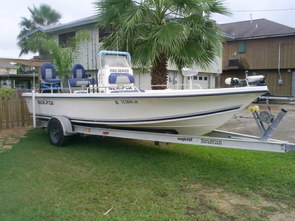 2003 21 Sea Fox Bay Boat - x002410500 (Bayou Vista TX.)