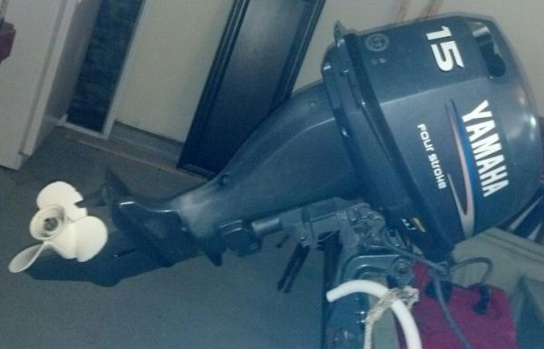 15hp Yamaha - $1500 (Dickinson Texas)