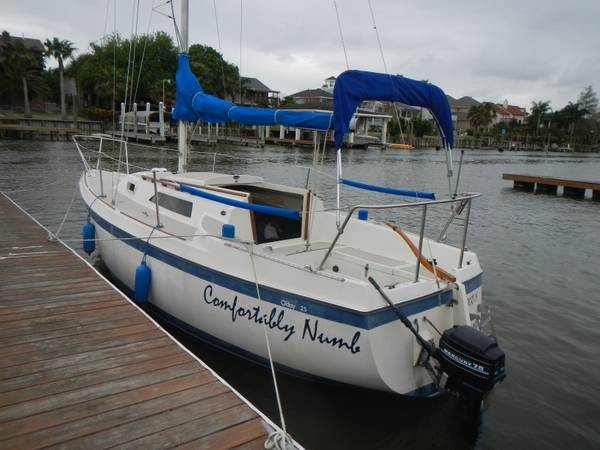 1983 ODay 25 SAILBOAT - $8500 (Clear Lake)