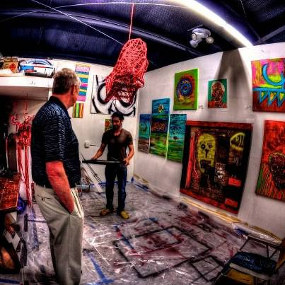 Art Studios for lease in the Heights  Houston