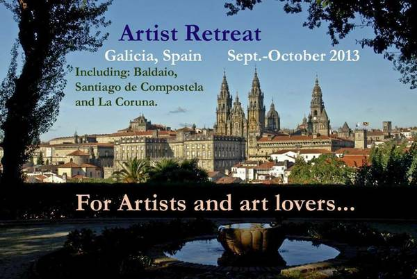 2 spots left on trip for artists to Spain   Houston-Spain