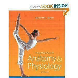 Fundamentals of Anatomy and Physiology 9th ed Martini Test Bank - $15 (Everywhere)