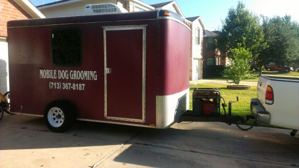 Mobile Dog Grooming Trailer For Sale - $10000 (Houston, TX)