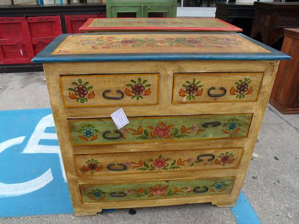 Painted 5 Drawer Dresser - $537 (Nadeau - Furniture With a Soul)