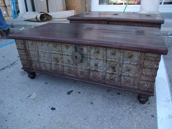 Vintage Indian Rail Box Coffee Table - $313 (Nadeau - Furniture With a Soul)