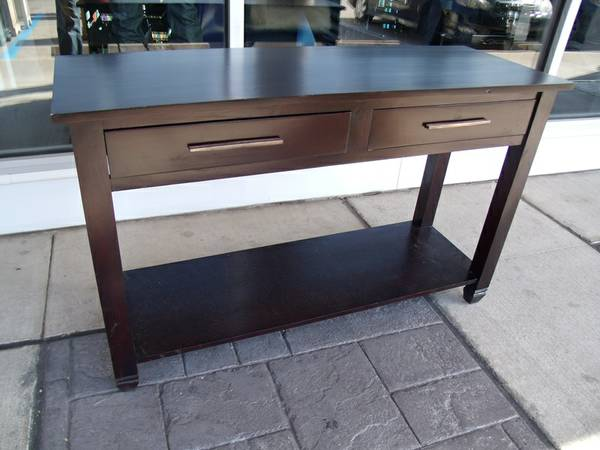 Atlanta 2 Drawer Console Table - $250 (Nadeau - Furniture With a Soul)