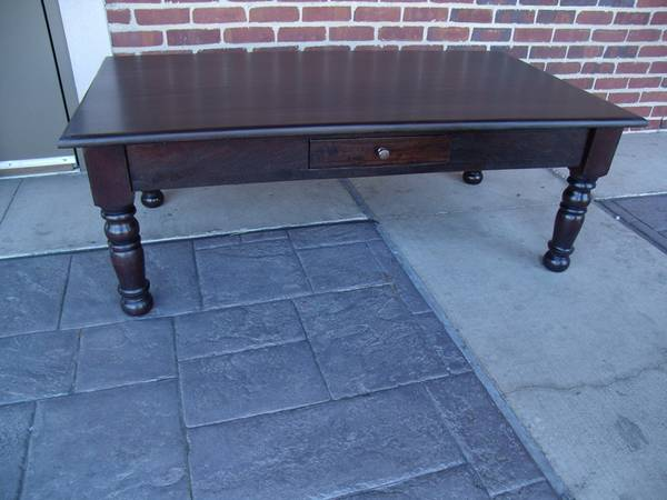 Colonial Single Drawer Coffee Table - $369 (Nadeau - Furniture With a Soul)