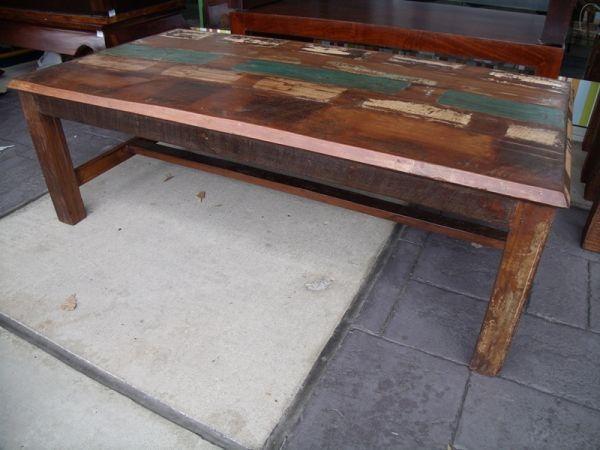 Reclaimed Wood Coffee Table (AV016) - $335 (Nadeau - Furniture With a Soul)