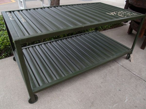 Container Collection Coffee Table (IF008) - $228 (Nadeau -- Furniture With a Soul)
