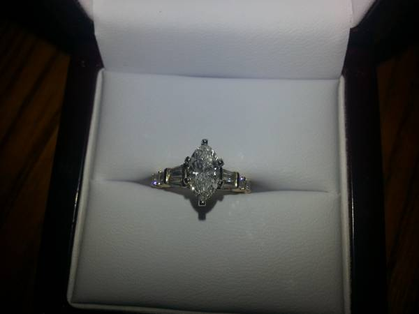 1 Carat Diamond Engagement Ring with 1 2 Carat Setting  League City