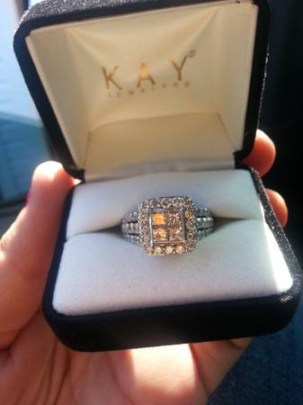 3kt Diamond Engagement Ring  From Kays Jeweler  -   x0024 4000  santa fe  tx