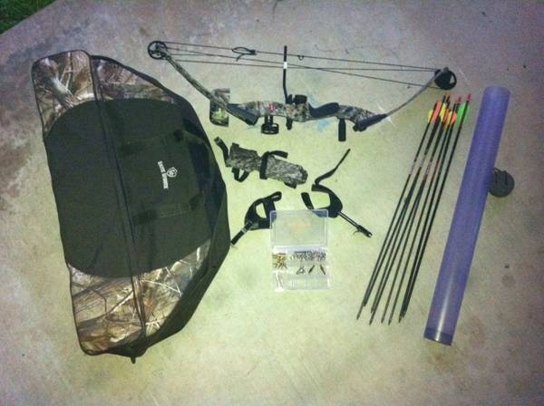 PSE NOVA COMPOUND BOW - Ready to Hunt - $350 (Galveston)