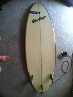 64 Quiet Flight Stingfish Surfboard - $200 (Galveston)