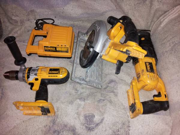 Dewalt 36v Combo Kit (tools and charger Only) for partsrepair - $200 (houston)