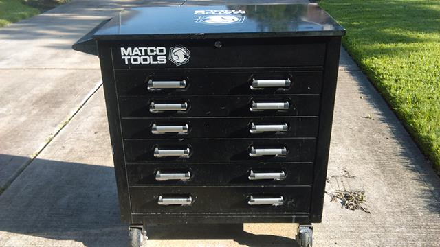 750  Matco Tool Box Black GREAT DEAL -  750