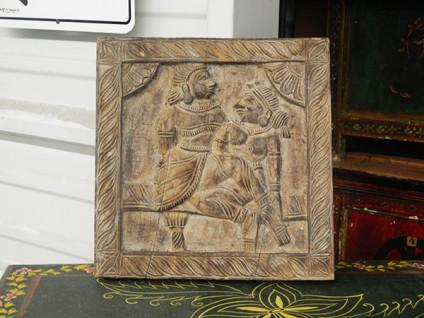 99  Wooden hAndcarved Kamasutra Carving Plaque 1ftx1ft